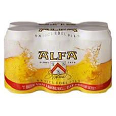 Alfa Bier Blikjes, Tray  24x33cl