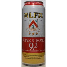 Alfa Super Strong 9.2 Bier Blikjes Tray 12x50cl