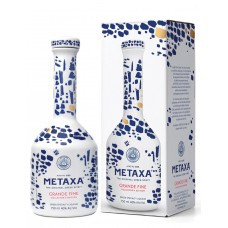 Metaxa Grand Fine Ceramic Collectors Edition 70cl + Geschenkdoos