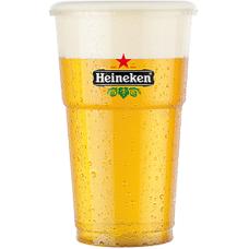 Heineken Plastic Glas Bierbekers 25cl Pak 50 stuks