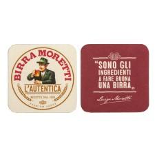 Birra Moretti Bierviltjes Pak 4x Rol 100 stuks