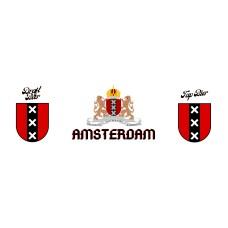 Partyfust 5 Liter Biervat Met Opdruk Amsterdam Wapen