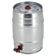 Moore Bier Partyfust Biervat 5 Liter Met Tapkraantje