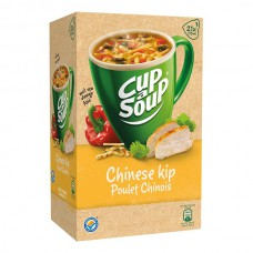 Cup a Soup Chinese Kip Grote Doos 21 Zakjes 12 Gram