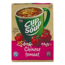 Cup a Soup Chinese Tomaat Grote Doos 12 Pakjes 51 Gram