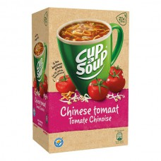 Cup a Soup Chinese Tomaat Grote Doos 21 Zakjes 16 Gram