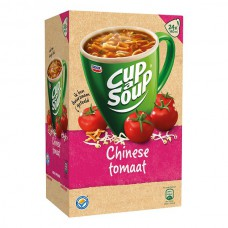 Cup a Soup Chinese Tomaat Grote Doos 24 Zakjes