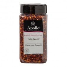 Apollo Chillies Flakes Potje 200 Gram