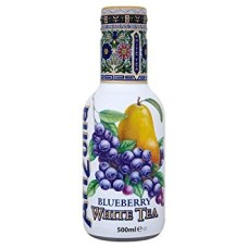 AriZona White Tea Blueberry 6 Flesjes 50cl