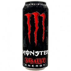 Monster Assault Energy Drink Blikjes, Tray 12x50cl