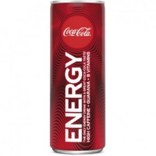 Coca Cola Energy Drink Blikjes Tray 12 Blikjes 25cl