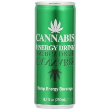Cannabis Energy Drink Tray 24 Blikjes 33cl