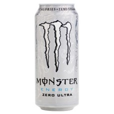 Monster Energy Ultra Zero White Blikjes, Tray 12x50cl