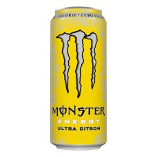 Monster Ultra Citron Zero Blikjes, Tray 12x50cl