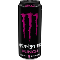 Monster Punch Mixxd Energy Drink Blikjes, Tray 12x50cl