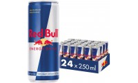 Red Bull Energy Drink Blikjes  Tray 24 Blikjes 25cl