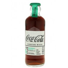 Coca Cola Signature Mixers Herbal 20cl Tray 12 Flesjes