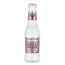Fever Tree Soda Water 20cl flesjes 24