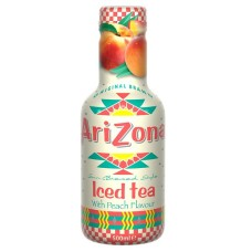 AriZona Iced Tea With Peach flavour 6 Flesjes 50cl