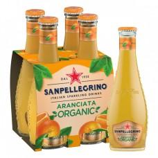 San Pellegrino Aranciata Organic Doos 24x20cl
