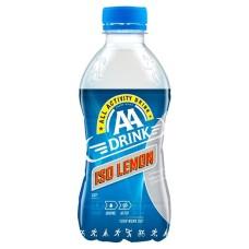 AA Drink Iso Lemon Sportdrank 33cl Doos 24 Flesjes (wit)