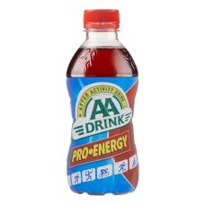 AA Drink Pro Energy Rood Sportdrank 33cl Doos 24 Flesjes