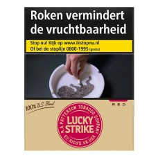 Lucky Strike US Blend Red XL Sigaretten Slof, Box 24 x 8 pakjes
