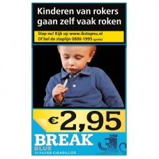 Break Blue Cigarillos Met Filter Box 17, Slof met 10 Pakjes