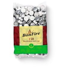 Theelichten 6 branduren XL Grote Zak 150 Stuks Waxinelichtjes Bonfire