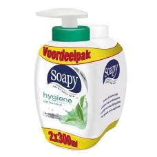 Handzeep Soapy Hygiene Met Pomp En Navulling 2 flesjes 300ml