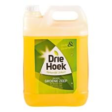 Groene Zeep Vloeibare Kan 5 Liter Merk Driehoek