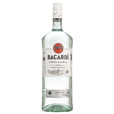Bacardi Carta Blanca Rum 1,5 Liter GROTE FLES XL