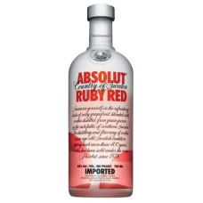 Absolut Ruby Red Vodka 1 Liter