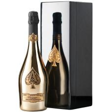 Armand De Brignac Champagne Gold Brut met Houten Kist