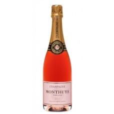 Monthuys Champagne Rosé brut 75cl