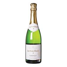 Le Petit Etoile Alcoholvrije Champagne Wijn Chardonnay Effervescent, BIO 75cl
