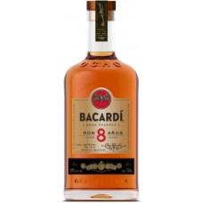 Bacardi Ron 8 Anos Rum Fles 70cl
