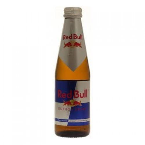 red bull flesjes glas 25cl kopen en bestellen aanbieding energy drink. Black Bedroom Furniture Sets. Home Design Ideas