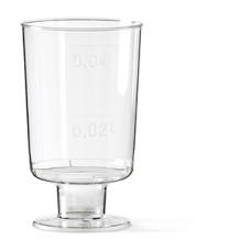 Plastic Borrelglas Doos 160x4cl