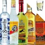 Tequila en Cachaca