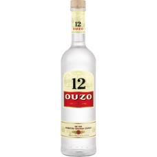 Ouzo 12 fles 70cl