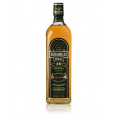 Bushmills Malt 10 Years Irish Whiskey 70cl